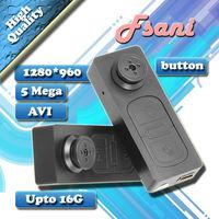 FreeShipping Vibration Mini Hidden Button Finger DV High Definition Video Recorder Digital Camera Photograph Record Videotap