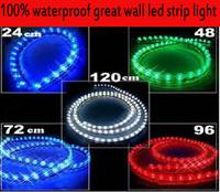 72cm DC12V waterproof flexible GREAT WALL LIGHT led auto strip light the atmosphere lights Net lights