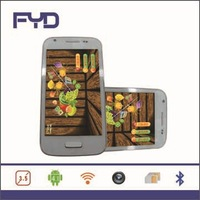 SF-I9500M 4.0 inch capacitive touch screen Dual sim mtk6515  Bluetooth mini i9500 s4 cell phone