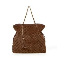 Smilyan 2014 autumn and winter bags casual velour bag fashion plaid chain women handbags women's shoulder bags free shipping