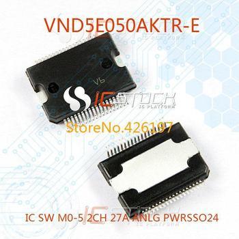 VND5E050AKTR-E IC SW M0-5 2CH 27A ANLG PWRSSO24 050 VND5E050AKTR 3pcs