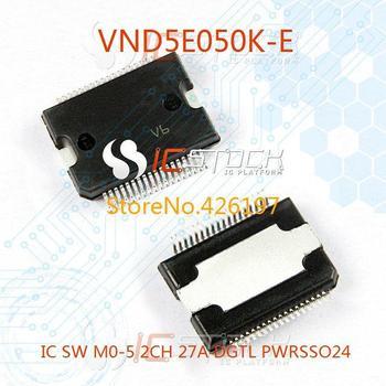 VND5E050K-E IC SW M0-5 2CH 27A DGTL PWRSSO24 050 VND5E050K 3pcs
