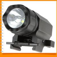 Securitylng P05 1600 Lumens CREE-XP-G R5 LED Tactical Gun Flashlight Torch 2 Modes LED Flash Light Lanterna with Mount
