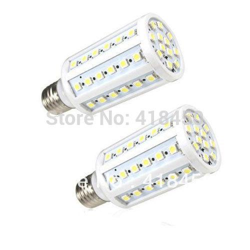 6-Pack E27 3000K Warm White 110V 10W 60LEDs 5050 SMD LED Corn Aluminum Substrate Corncob Light Lamp Bulb(China (Mainland))