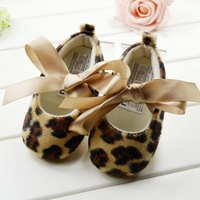 2013 Free Shipping Wholesale 3pairs/lot Baby Girl Shoes Leopard Girls Shoes