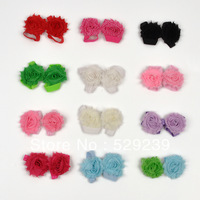 Free Shipping Factory Direct  Shabby FLower barefoot sandles,30 pairs/lot