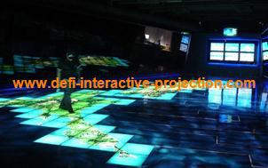 Magic interactive floor system , Interactive advertising,Makes your display stand out