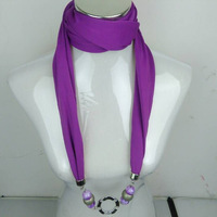6pcs/lot, Mixed Colors and disigns,colorful jewelry Necklace jewelled Pendant Scarves Shawls, original factory supply