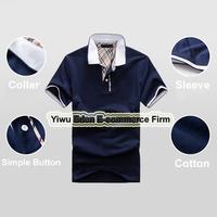 Men's Short Sleeve Shirt slim fit boy cotton t-shirt