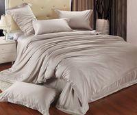 Solid color bedding sets purple comforter sets queen romantic bedsheet pink duvet cover king size orange bed sheet set