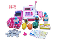 Gift supermarket cash desk toy child cash register conveyor belt set