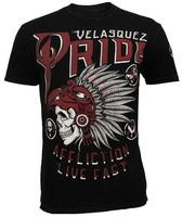 mma 2013 men's short sleeve t shirt  flag Lightning  t-shirt wholesale free shipping