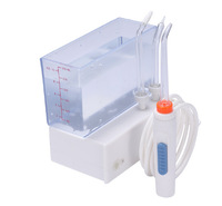 Free shipping Portable oral and nasal irrigator, Mini traveller's dental irrigator jet with extra three tips