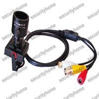 Vari-Focal 2.8-12mm ZOOM Lens Sony Effio-E 700TVL A/V OSD Menu CCTV Color camera MIC