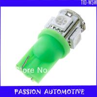 50pcs/lot 168 194 W5W T10 5050 5SMD Car LED Interior Light Bulbs free shipping