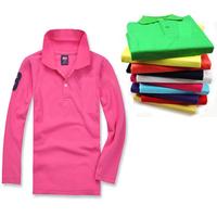 Free shipping kids baby boy girl t shirts kids boys children long sleeve t-shirts kids clothes shirt