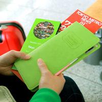 Fashion The journey Long Passport Cover Case Travel Wallet Organizer Pocket Holder Keeper Bag CX1509
