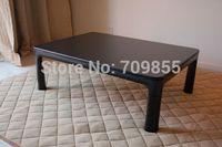 Free shipping Japanese furntiure store Reversible table top black/white rectangle  KOTATSU heated Japanese floor table