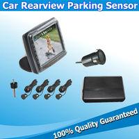Auto Sensor Parking System Car Reverse Sensors Estacionamento Systems 3.5inch Screen with Rear Camera