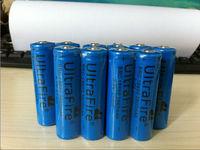 Promotions blue UltraFire 18650 3800mAh 3.7V Rechargeable Battery for LED Flashlight,Digital Camera,Laser pen