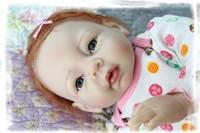 reborn baby girl dolls,55cm
