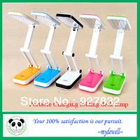 High quality Portable Charging folding desk lamp/ LED lamp/ table lamp/reading lamp/eye protection fold light
