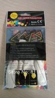 LED balloon LED Flashing balloon light up balloon with RGB flashing ,free shipping
