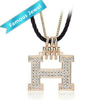 W.Life(Janos) Brand jewelry 18k gold plated necklace pendant jewelry Austrian element crystal Free shipping