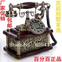 Free shipping European solid wood antique telephones telephone fashion creative retro telephone landline phone