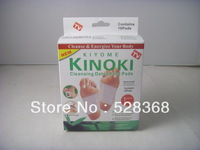 Free Shipping 10pcs/set,Kinoki Detox Foot Pads Patches with Adhesive Contains 10 pads Dispels toxins and maintain beauty
