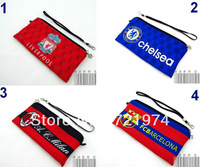 1pcs Free shipping   Wallets & Holders  Coin Purses  Pencil Bags championship souvenir  Football