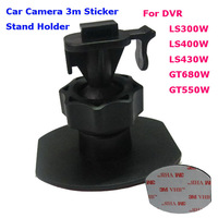 2013 New 3m Adhesive Single Buckle Mount for DOD LS300W LS430W LS430 LS330W GT300W GT550W Car DVR 3M VHB Sticker Bracket Holder