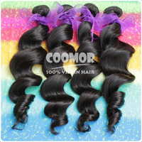 Queen Hair Products 5A, Loose Curly 3PCS/lot Virgin Brazilian Hair Weave, Human Hair Extensions, DHL Free Shipping