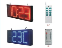 5 inches express alibaba cn com Shenzhen Asram LED led led display outdoor clock time date temperature signs digital numbers