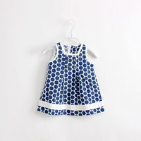 wholesale freeship 2014 new girls dress  fashion dress 6pcs/lot for baby dress D110101