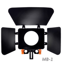 Aputure Digital Matte Box for Shoulder Support Rig 15mm Rod Follow Focus for DSLR Free shipping +Drop Shipping