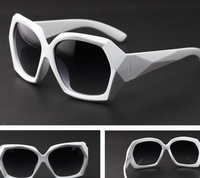 100% UV resistance transparent More Edges And Corners women sunglasses 9 colors free shipping 019
