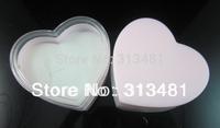 Wholesale 120pcs/lot 4*3cm Transparent Acrylic Ring Box Heart Jewellery Case FGR9