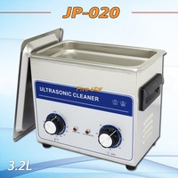 Hot sell  free shipping JP-020 Ultrasonic cleaner 3.2L  hardware accessories, circuit board cleaning machine