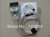 2013 Hot Selling J2534 MINI VCI FOR TOYOTA TIS Techstream 2013  V8.20.019 Toyota Diagnostic Cable with Free Shipping