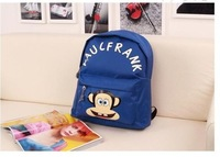 Free shipping/wholesale low price new arrived Nylon school backpacks for students  F-43
