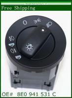 New Headlight Switch For Audi  A4 8E0 B7 2004-2008  OEM :8E0941531C