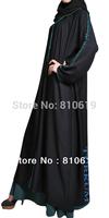 Hot sale Islamic dubai style, women's abaya  TK-305 Series(MOQ: 10 Piece) ,(Abaya , Jilbab, muslim woman's cloth ,arabic cloth)