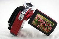 "Intelligent Design Red 3.0"" TFT LCD Screen Digital Video Camcorder 20MP HD 720P"