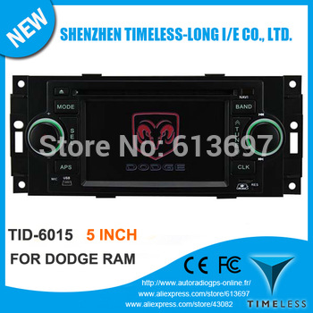 "5"" Car DVD Player For DODGE RAM 1500 2006-2008 With GPS Navigation Radio Bluetooth TV iPod USB SD Audio Video Player FREE Map"