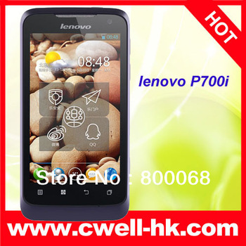 Big Battery Lenovo P700i MTK6577 Dual Core CPU 4.0 inch IPS Touch Screen Dual Camera Smart Phone Brand quality