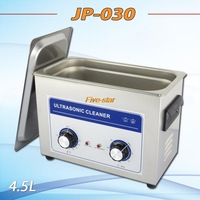 Free shippig ultrasonic cleaner 4.5L 180w clean the king of the circuit board ,metal parts cleaning equipment with free basket