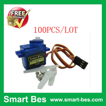 Free shipping by DHL~ HOT!!  100pcs/lot SG90 9g Mini Micro Servo for RC for RC 250 450 Helicopter Airplane Car Special promotion