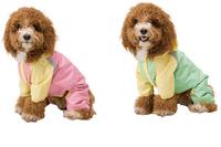 High Quality  Free Shipping 2014 New Design Pet Dog Cat Rain coat Dog Raincoat Pet Dog Mesh Clothes Dog costumes Summer