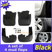 New 4pcs/lot Mudguard For Honda Civic 2006~2011 Mud Flaps Rear Front Black Guards Splash ABS